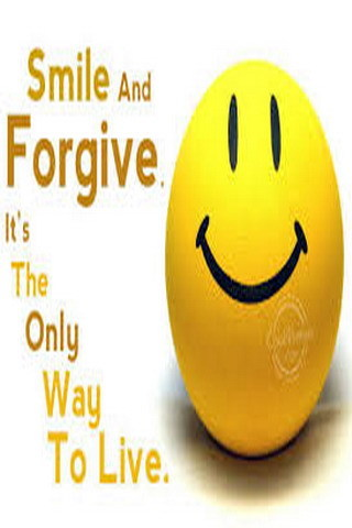 Smile And Forgive Mobile Wallpaper