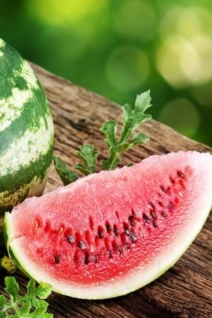 Water Melon Summer Fruits Natural Mobile Wallpaper