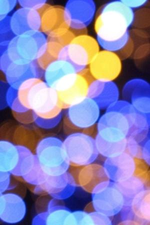 Bokeh Lights Patter Circles 3D Mobile Wallpaper