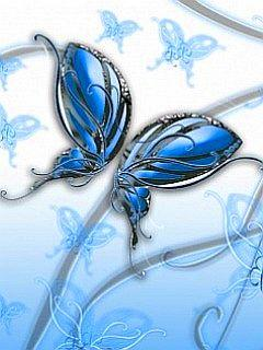 Abstract Butterfly By Vaibhav Mobile Wallpaper