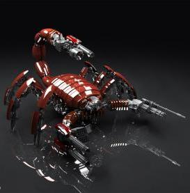 Mad Scorpion Mobile Wallpaper