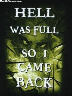 Hell Was Full Mobile Wallpaper