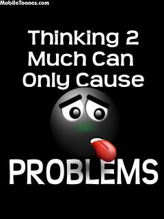 Thinking Problem Mobile Wallpaper