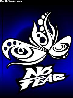 No Fear - Tribal Mobile Wallpaper