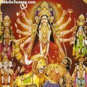Maa_Durga. Mobile Wallpaper