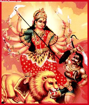 DURGA Mobile Wallpaper