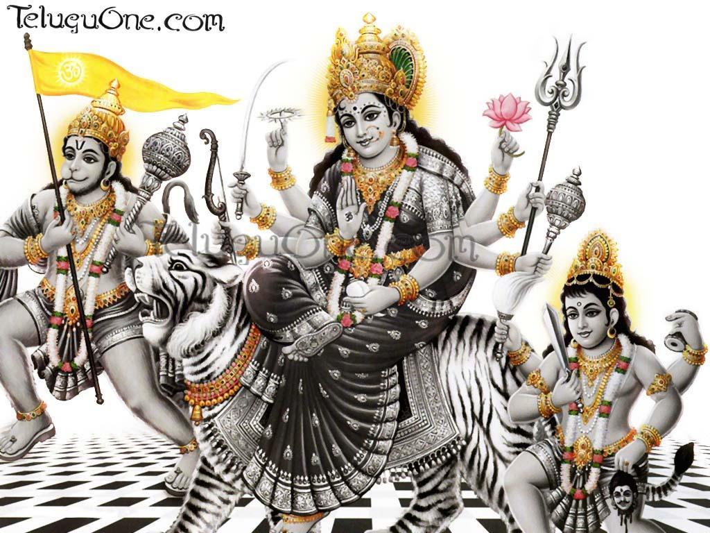 Durga.1 Mobile Wallpaper