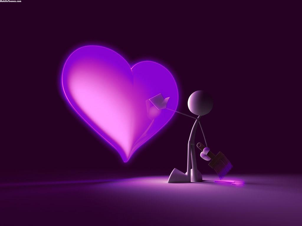 Heart Mobile Wallpaper