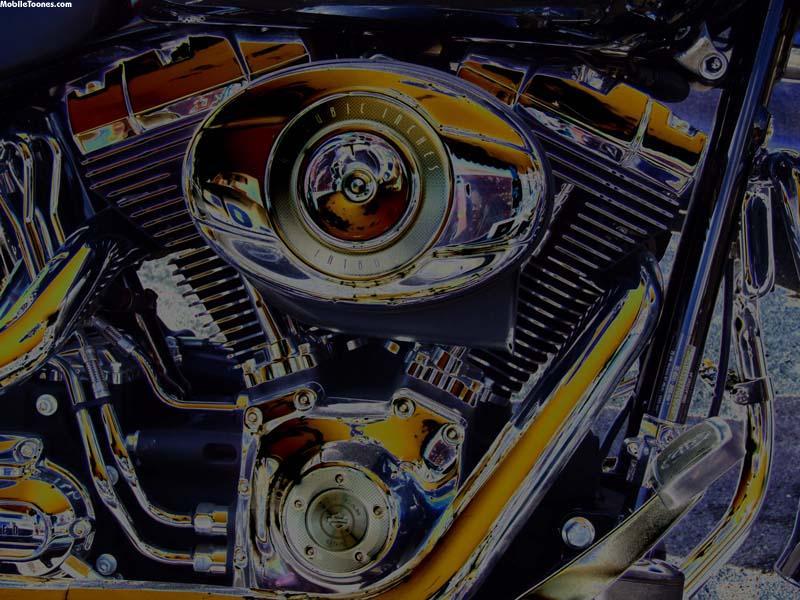 Harley Art Mobile Wallpaper