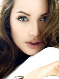 Angelina Juliee Mobile Wallpaper