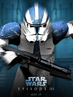 Star Wars III Mobile Wallpaper
