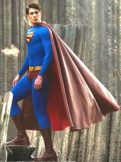 Super Man Tro Mobile Wallpaper