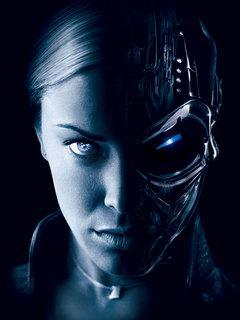 Terminator Eyes Mobile Wallpaper