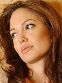 Angelina Mobile Wallpaper