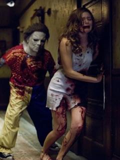 Kill Girl Halloween Mobile Wallpaper
