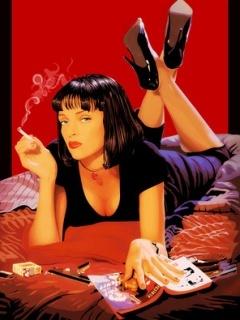 Pulp Fiction Mobile Wallpaper
