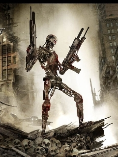 Terminator Mobile Wallpaper