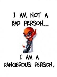 Danger Person Mobile Wallpaper