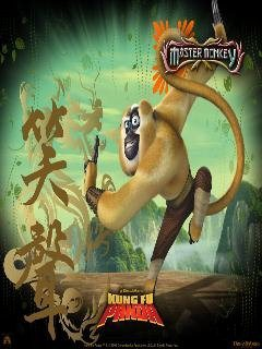 Master Monkey Mobile Wallpaper