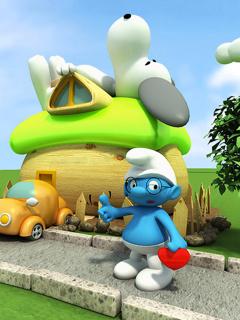 Smurfs Mobile Wallpaper