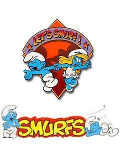 Let's Smurf Mobile Wallpaper