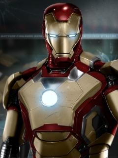 Iron Man 3 Mobile Wallpaper