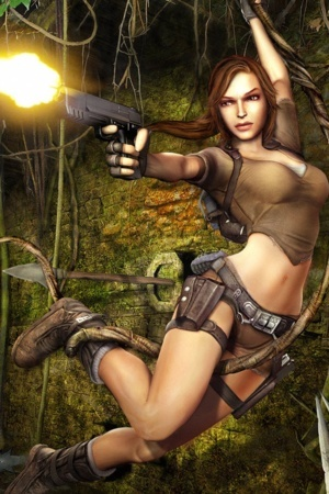 Tomb Raider IPhone Wallpaper Mobile Wallpaper