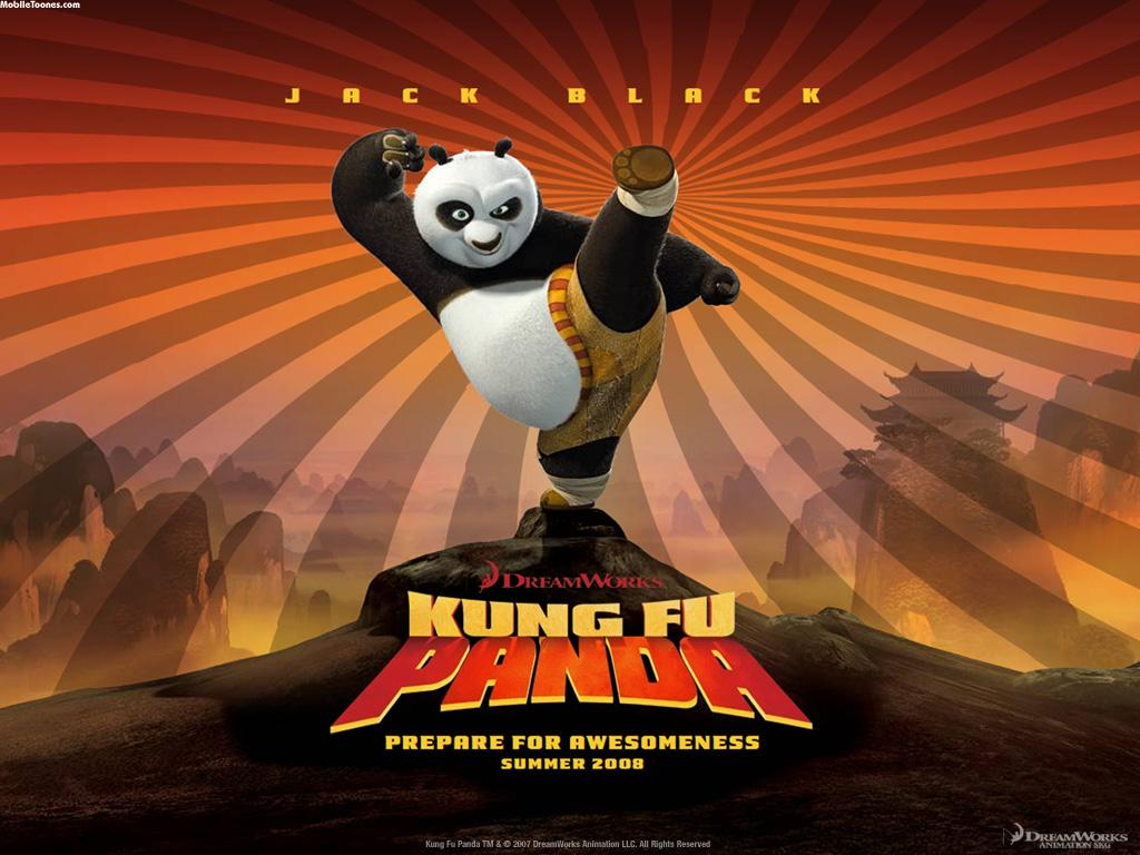 Kang Fu Panda Mobile Wallpaper