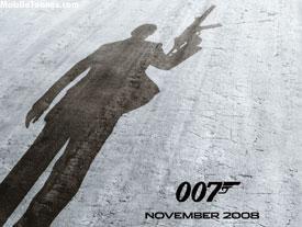 James Bond 007 - Quantum Of Solace Mobile Wallpaper