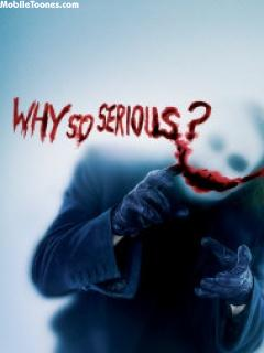 Why So Serious Mobile Wallpaper