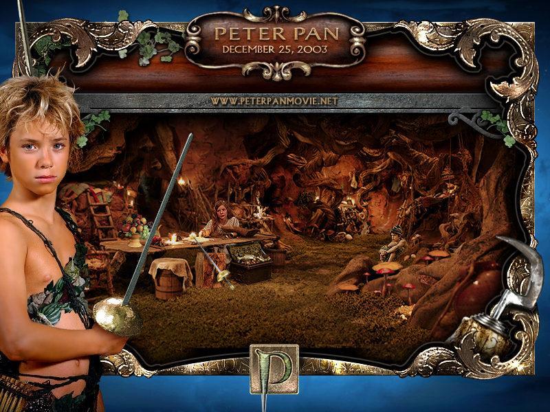 PETER PAN Mobile Wallpaper