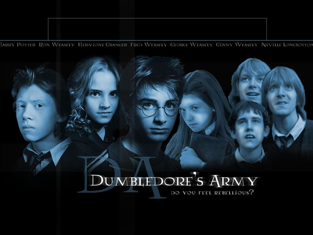 Dumbledore's Army Mobile Wallpaper