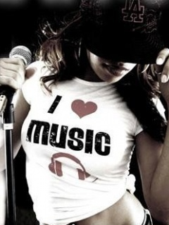 I Love Music 2 Mobile Wallpaper