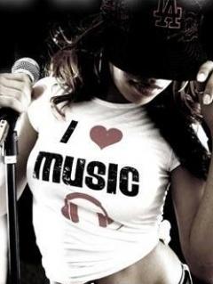 I Love Music 2 Mobile Wallpaper