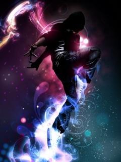 Jump Dance Mobile Wallpaper