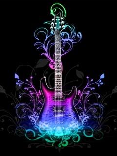 Music In Love Mobile Wallpaper