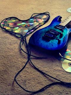 Guitar-2 Mobile Wallpaper