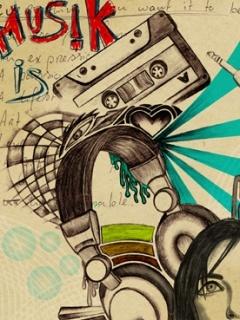 Music-1 Mobile Wallpaper
