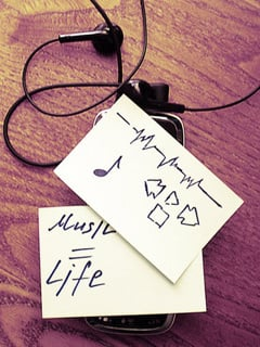 Music Is Life 2 Mobile Wallpaper