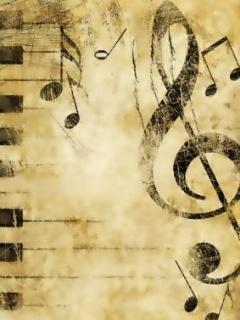 Music Key Mobile Wallpaper