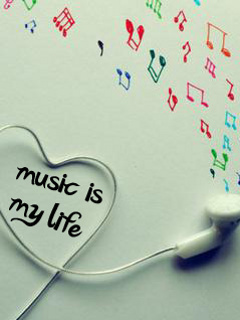 Music Is Life 4 Mobile Wallpaper