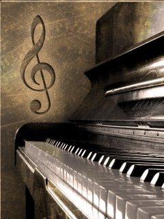 Piano Mobile Wallpaper