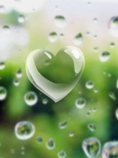 Heart Bubble 2 Mobile Wallpaper