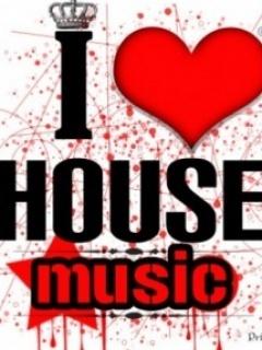I Love House Music Mobile Wallpaper