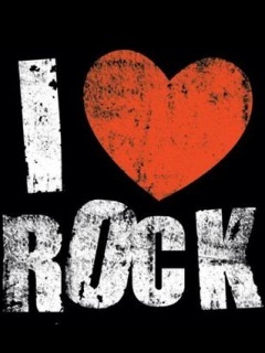 I Love Rock Mobile Wallpaper