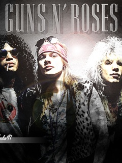 Guns N Roses 02 Mobile Wallpaper