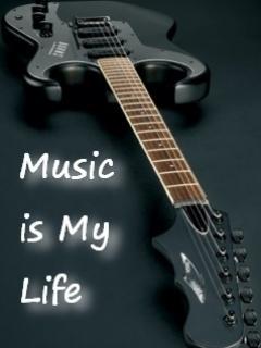 Music IIs My Life Mobile Wallpaper