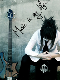 Music Is My Liffe Mobile Wallpaper