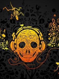 Skull1 Mobile Wallpaper