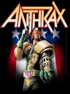 Anthrax Judge Dredd Mobile Wallpaper